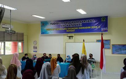 77 Mahasiswa STIE Indragiri Ikuti Yudisium
