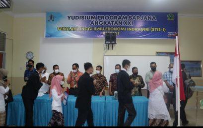 STIE Indragiri Yudisium 105 Mahasiswa